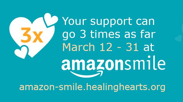 AmazonSmile 3x Donations!
