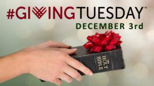 #GIVINGTUESDAY - Dec. 3rd